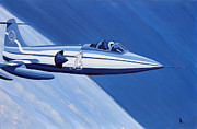 Loop Paintings - Starfighter Special by Jonathan Laverick