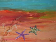 Starfish Print by PainterArtist FIN