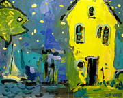 Brian Simons - Starfish Yellow House