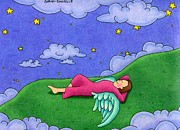 Stargazer Print by Sarahphim Art