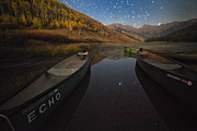 Gore Range Prints - Starlight Discovery At Piney Lake Print by Mike Berenson