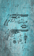 Drawn Prints - Starr Revolver Print by Nomad Art And  Design