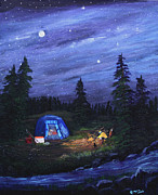 Myrna Walsh - Starry Night Campers...