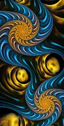 Anastasiya Malakhova - Starry Night - Fractal Art
