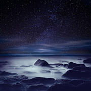 Rocks Art - Starry night by Jorge Maia