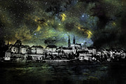 James Bethanis - Starry Night Over Basel...