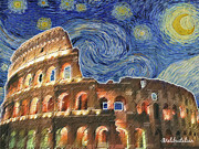 Lori Malibuitalian - Starry Night over Rome