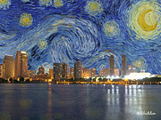 Lori Malibuitalian - Starry Night over San...