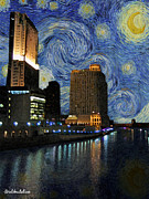 Lori Malibuitalian - Starry Night over the...