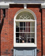 Boston Ma Prints - Stars and Stripes Print by Pamela Walters