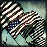 Stars N  Stripes Print by Trish Mistric