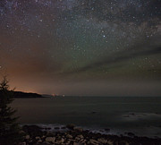 Brent L Ander Framed Prints - Stars over Acadia 2724 Framed Print by Brent L Ander