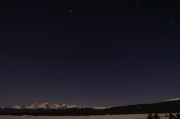 Sawatch Range Photos - Stars Over Sawatch by Jeremy Rhoades