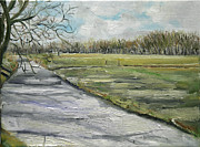 Nancy Van den Boom - Start of spring oil...