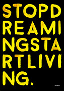 Yellow Posters - Start Poster by Wrd Bnr