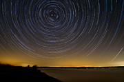 Startrails Prints - Startrails 3 Print by Benjamin Reed