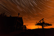 Startrails Photos - Startrails Hasenhorn by Michael Herrmann
