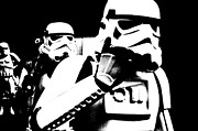 Movie Star Photo Originals - Starwars troopers by Tommy Hammarsten
