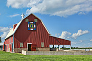 Quilt Barns Framed Prints - State Fair Framed Print by Nikolyn McDonald