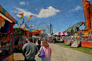 Wv Prints - State Fair Print by Todd Hostetter