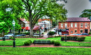 Annapolis Maryland Prints - State House Grounds Print by Debbi Granruth
