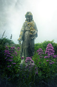 Grave Photos - Statue by Joana Kruse