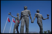 Flags Sculptures - Statue of Attaturk by Carl Purcell