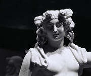 Catherine White Prints - Statue of Dionysus Print by Catherine Fenner