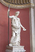 Hera Photos - Statue of Hera by Stefano Baldini