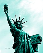 Libertas Posters - Statue of Liberty   Poster by Chris Berry