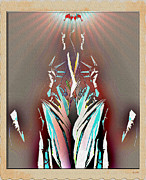 Abstract Sights Prints - Statue of Liberty Print by Daniel Janda