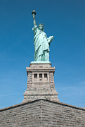 United States National Register Of Historic Places Photos - Statue of Liberty II by Clarence Holmes