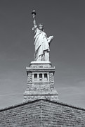 United States National Register Of Historic Places Photos - Statue of Liberty III by Clarence Holmes