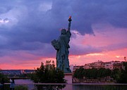 Statue Of Liberty In Paris Print by John Malone