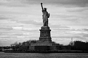 American Independance Photo Metal Prints - Statue of Liberty liberty island new york city usa Metal Print by Joe Fox