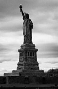 American Independance Metal Prints - Statue of Liberty national monument liberty island new york city Metal Print by Joe Fox
