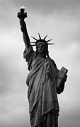 Manhatan Photo Prints - Statue of Liberty national monument liberty island new york city nyc Print by Joe Fox