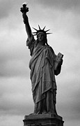 American Independance Photo Metal Prints - Statue of Liberty national monument liberty island new york city nyc usa Metal Print by Joe Fox