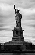 American Independance Photo Metal Prints - Statue of Liberty national monument liberty island new york city usa Metal Print by Joe Fox