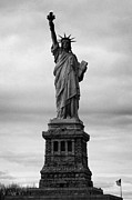 American Independance Photo Metal Prints - Statue of Liberty national monument liberty island new york city usa nyc Metal Print by Joe Fox