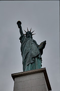 Aod Prints - Statue of Liberty - Paris France - 01131 Print by DC Photographer