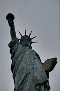 Late Prints - Statue of Liberty - Paris France - 01132 Print by DC Photographer