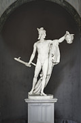 Canova Prints - Statue of Perseus with the head of Medusa Print by Stefano Baldini