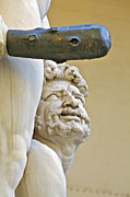 Agony Prints - Statues of Hercules and Cacus Print by David Letts