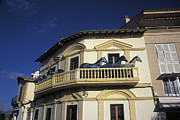 Installation Art Art - Statues of horses on a balcony in Majorca by Rolf Adlercreutz