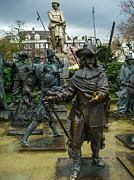 Robert Ford - Statues of Rembrandt and...