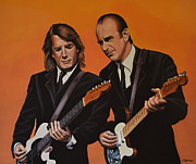 Singer Songwriter Paintings - Status Quo by Paul  Meijering