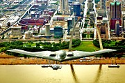 Jets Framed Prints - Stealth St Louis Framed Print by Benjamin Yeager