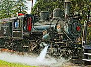 Wv Locomotive Photos - Steam Climax by Steve Harrington
