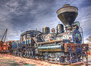 Fort Missoula Prints - Steam Engine 7 Print by Katie LaSalle-Lowery